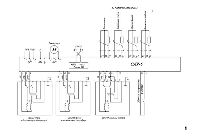 Ccm 125 схема подключения